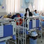 همراه بیمار در بیمارستان کمالی کرج