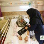 همراه بیماردر بیمارستان امام خمینی (ره)