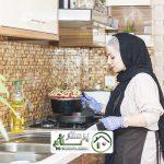 امور منزل و آشپزی در میدان امام حسین (ع)
