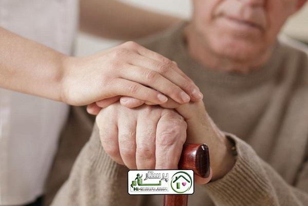 مراقبت از سالمند دارای بیماری ام اس،سعادت آباد