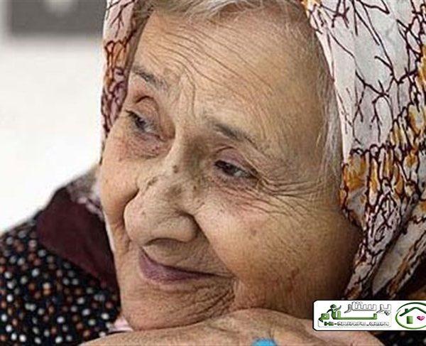 مراقبت از سالمند خانم تنها و سالم ، جنت آباد
