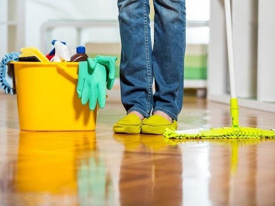 نظافت منزل هر 8 روز یکبار ، استاد معین