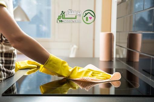 نظافت منزل و آشپزی برای 4 نفر ، ٱزگل