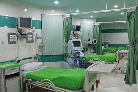 همراه بیمار آقا در بیمارستان میلاد