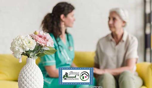 مراقبت از سالمند خانم سالم ، میرداماد