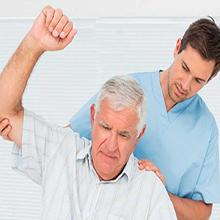 مراقبت از سالمند آقاهمراه با تمرینات فیزیوتراپی ، اسلام شهر