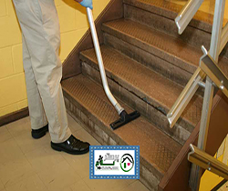 نظافت راه پله ، سعادت آباد