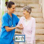مراقبت از سالمند خانم که بیماری پارکینسون دارند ، جنت آباد