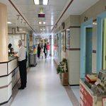 همراه بیمار خانم در بیمارستان لقمان
