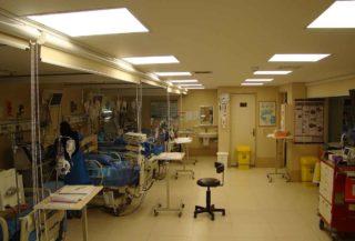 همراه بیمار در بیمارستان بانک ملی