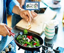 امور منزل و آشپزی برای یک نفر