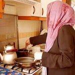امور منزل و آشپزی برای پدر و دختر ، آریا شهر