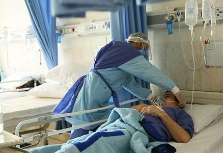 همراه بیمار آقا در بیمارستان امام حسین (ع)