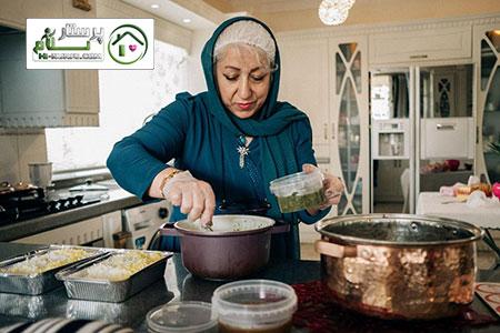 آشپزی و نظافت خیابان طوس جیحون