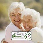 مراقبت از سالمند خانم منیریه