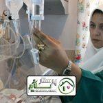 همراه بیمار در بیمارستان فیاض بخش ( شماره 2 )