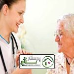 پرستار سالمند تنها سعادت آباد