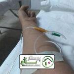 تزریق سرم در شهید عراقی
