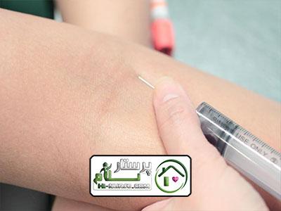 تزریق آمپول در مرزداران