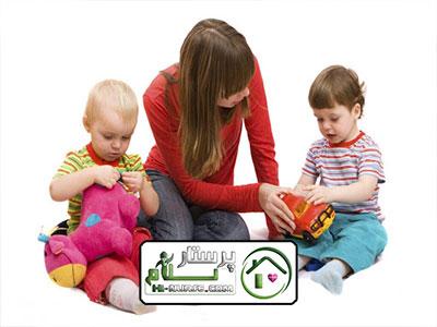 نگهداری از سه کودک در منزل ، شهریار