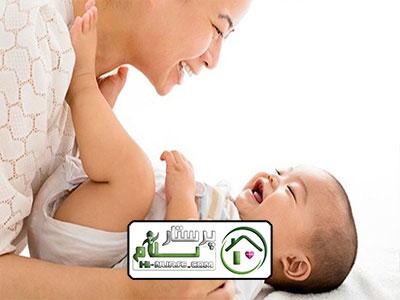 مراقبت از نوزاد دوماهه و امور منزل ، فرشته
