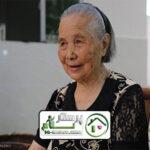 پرستاری از سالمند خانم87 ساله ، قلهک