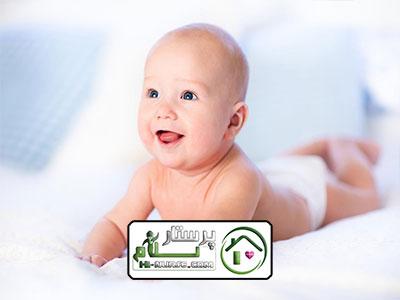 مراقبت از نوزاد 4 روزه ، سعادت آباد