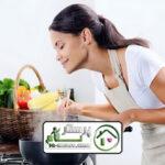 امورمنزل و آشپزی برای سه نفر ، سعادت آباد