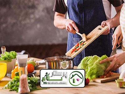 امور منزل و آشپزی برای سه نفر ، ولنجک