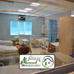 همراه بیمار در بیمارستان رسول اکرم