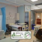 همراه بیمار در بیمارستان الغدیر