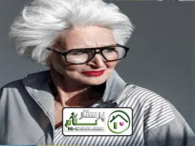 مراقبت از سالمند خانم تنها ، مجدیه