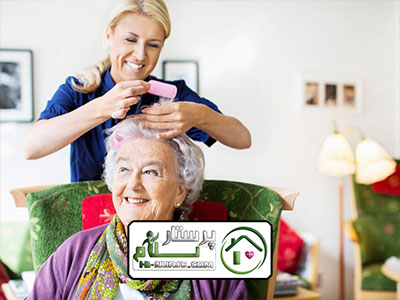 مراقبت از سالمند خانم پوشکی ، پیروزی