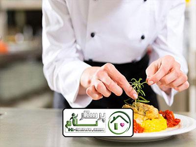 امور منزل و آشپزی برای دو نفر ، سعادت آباد