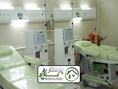 همراه بیمار در بیمارستان شفاء یحیی