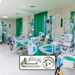 همراه بیمار در بیمارستان میلاد
