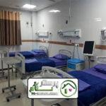 همراه بیمار در بیمارستان فیروزگر