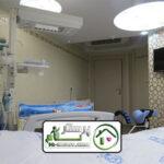 همراه بیمار در بیمارستان خاتم الانبیا