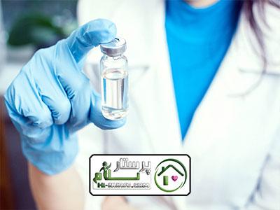 تزریق پنی سیلین در منزل ، سعادت آباد