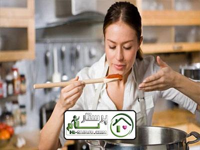 امور منزل و آشپزی برای 4 نفر ، سعادت آباد