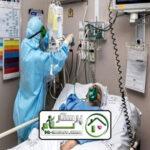 همراه بیمار خانم کورنایی در بیمارستان سینا