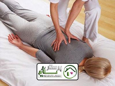 ماساژ درمانی در منزل ، منیریه