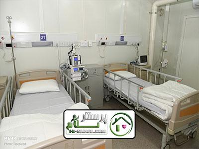 همراه بیمار در بیمارستان فیاضض بخش