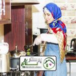 امور منزل وآشپزی برای سالمند آقا اکباتان