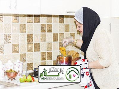 امور منزل وآشپزی پیروزی