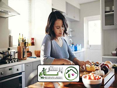 امور منزل و آشپزی برای دونفر مترو قلهک