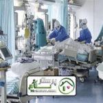 همراه بیمار خانم کورنایی در بیمارستان میلاد