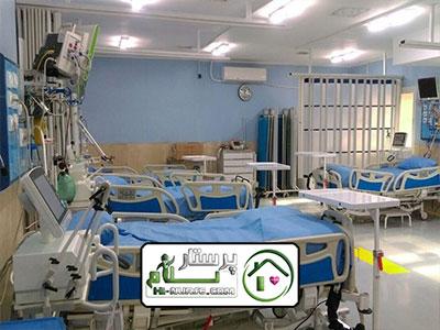 همراه بیمار دربیمارستان شفا یحیی