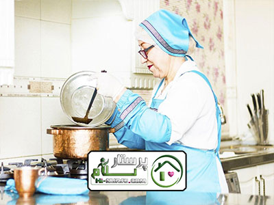 انجام امور منزل وآشپزی برای زوج سالمند شهرک غرب
