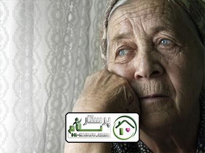 مراقبت از سالمند خانم تنها پیروزیمراقبت از سالمند خانم تنها پیروزی